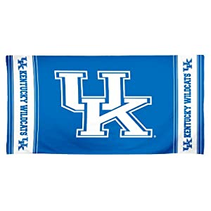 Buy NCAA Kentucky Wildcats 30 by 60 Fiber Reactive Beach Towel by WinCraft