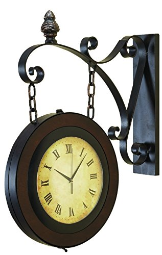 Best Two Sided Outdoor Clocks For Gardens And Outdoor