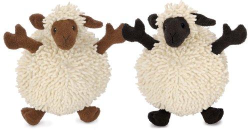 Godog Fuzzy Wuzzies 770613 Sheep Assortment Plush Dog Toy