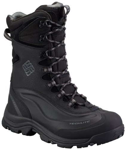 Columbia Men'S Bugaboot Plus Ii Xtm Omni-Heat Cold Weather Boot,Black/Charcoal,9 M Us
