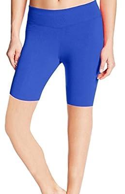 ABUSA Women's YOGA Leggings Exercise Workout Shorts