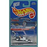 Mattel Hot Wheels 1999 First Editions 1:64 Scale Blue & Chrome Baby Boomer Die Cast Car #024