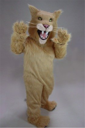 Fierce Cat Mascot Costume