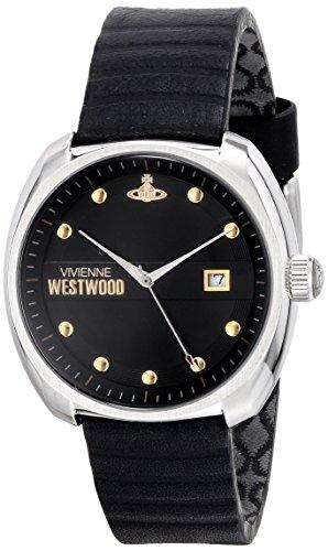 Vivienne Westwood - VV080BKBK - Montre Homme - Quartz Analogique - Bracelet Cuir Noir