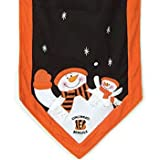 "Cincinnati Bengals NFL 72"" X 15"" Snowman Table Runner at Amazon.com"