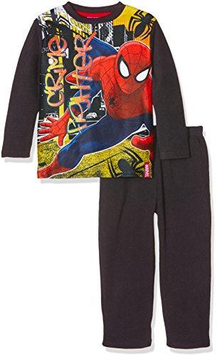 dc-comics-jungen-zweiteiliger-schlafanzug-spiderman-crime-fighter-pyjama-set-grau-grau-6-jahre