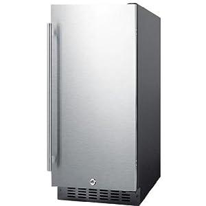 Summit SPR315OS 15 Wide Built-in Outdoor Beverage Refrigerator