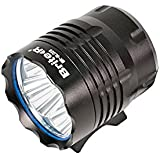 Brite-R® Vier 4x CREE XML T6 LED Bicycle Front Light inc. 6000mAh Li-ion Rechargeable Battery + Charger