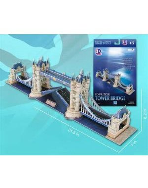 Picture of Puremco 3D Puzzle - London Tower Bridge: 118 pcs (B002MPXPFI) (Brain Teasers)