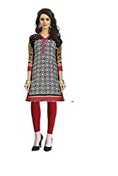Vaamsi Women's PolyCotton Unstitched Kurti Fabric(KFD1039_Multi-Coloured_Free Size)