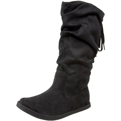 Roxy Women's Halifax Flat Boot,Black,6 B US