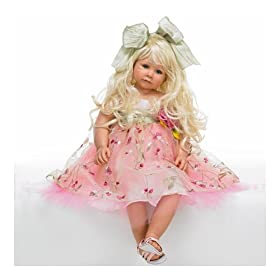 32-Inch Tall Collectible Girl Doll: Sprinkled In Pixie Dust Doll by The Ashton-Drake Galleries