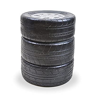 Tires Wheels Stacked Stool Novelty Garage Gift