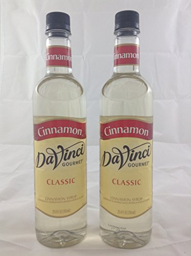 Davinci Gourmet Cinnimon Flavored Syrup 2 Bottles