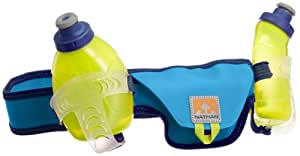 Nathan Speed 2 Hydration Belt, Blue, Small