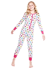 Pure Cotton Heart Print Onesie