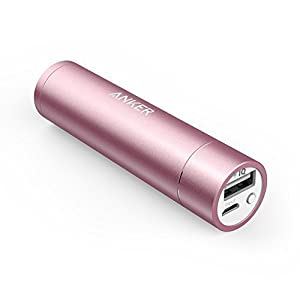 Anker PowerCore+ mini 3350mAh Lipstick-Sized Portable Charger  Most Compact