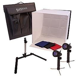 Apollo Studio® PH-Studio-T1 Photography Photo Studio Lighting Kit
