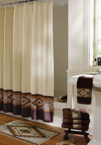 Southwest Bath Shower Curtain By Collections Etc