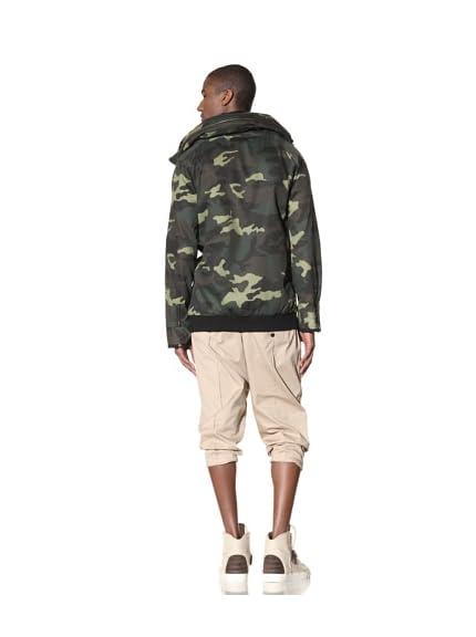 B: Scott Men's Camo Twill Mid Mock Jacket
