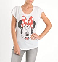 Disney Minnie Face Boxy Tee