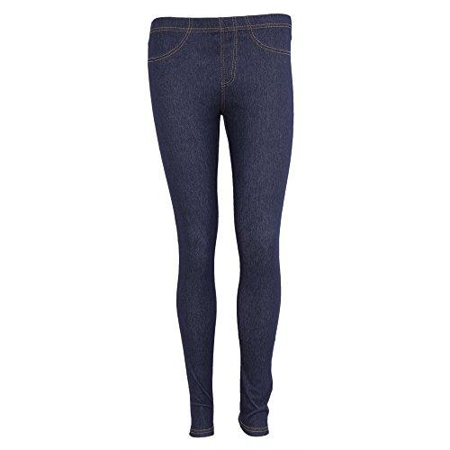 FLOSO Ladies/Womens Jeggings (Jean Look Leggings)