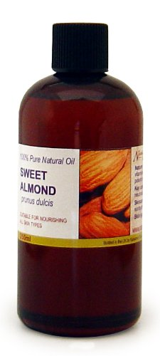 250ml Sweet Almond Oil - 100% Pure Cold Pressed