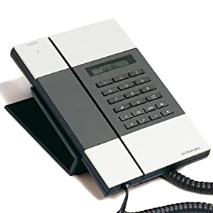 jacob jensen desk phone with caller id compatibility. Black Bedroom Furniture Sets. Home Design Ideas