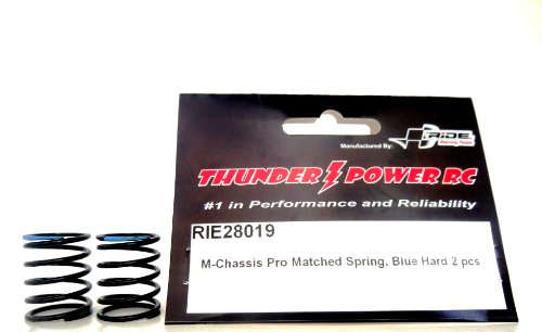 Ride M-Chassis Pro Matched Springs, Blue, Hard (2-Piece)