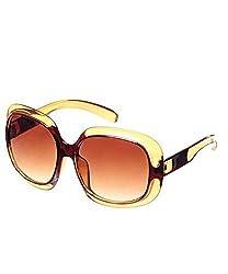 Candid Oversized Sunglasses Golden Gc205-W2 (GC205-W2)