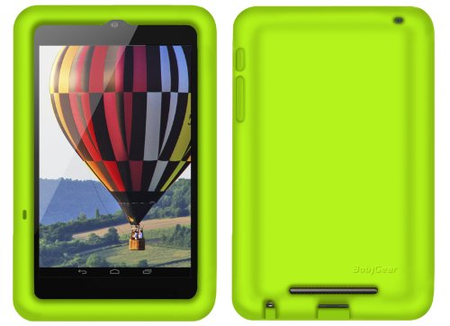 Nexus 7 Case Bobj Rugged Case For Nexus 7 1st Generation 2012 Wifi Or 3g 4g Tablet Not For Nexus 7 Fhd 2nd Generation 2013 Bobjgear Protective Cover Gotcha Green
