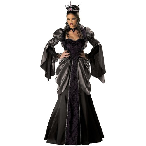 Wicked Queen Elite Collection Adult Costume (As Shown;Large)