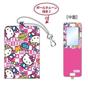 キティ ファブリックミラーmini お菓子 ファッション 美容 メイク道具 メイク用品