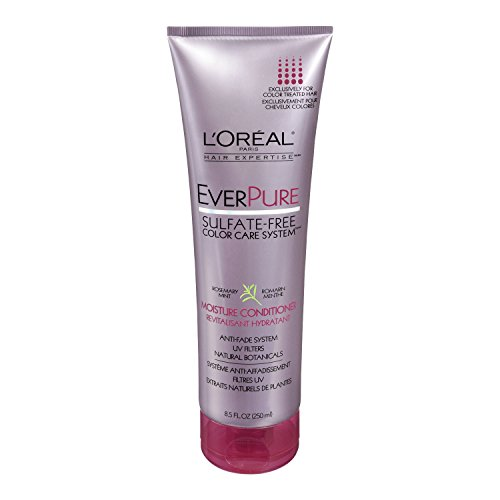 L'Oreal Paris discount duty free L'Oreal Paris EverPure Sulfate-Free Color Care System Moisture Conditioner, 8.5 Fluid Ounce