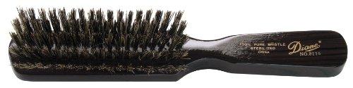 Diane Men's Styling Brush, 100% Boar Bristles