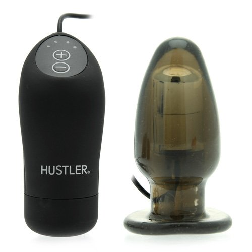 Hustler Novelties Hustler Provocative Pleasure Plug Smoke, Uses 2 Aaa Batteries (not Included)