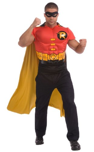 Robin Muscle Chest Kit Adult Costume