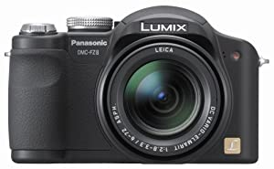 Panasonic Lumix DMC-FZ8K 7.2MP Digital Camera with 12x Optical Image Stabilized Zoom (Black)