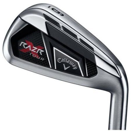 Callaway Golf RAZR X Tour Irons, Set of 8 (Right-Handed, Steel Shaft, Stiff, 3-PW)