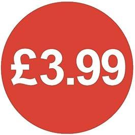 Audioprint Lot Petit 13mm £ 3,99Prix-50000autocollants