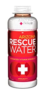 Arizona Rescue Water Immunity, Pomegranate Punch, 20.5-Ounce, 24-Count