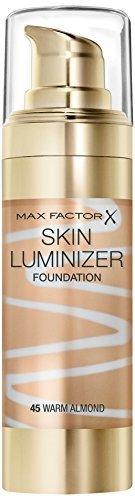 Max Factor Skin Luminizer Foundation, Warm Almond Number 45