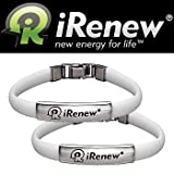 IRenew Energized Well Bracelet - White (Set Of 2)