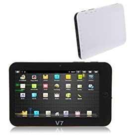 V7 7 Inch Google Android 2.3 Vc882 Embedded 1ghz Tablet Pc Silver