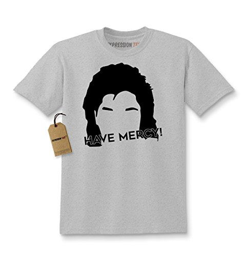Kids Have Mercy T-Shirt X-Small Heather Grey (Full House Tee Shirt compare prices)