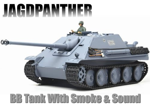 Smoke  &  Sound BB Firing RC JAGDPANTHER
