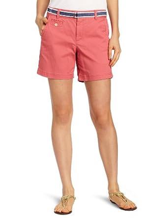 Dockers Women's Soft Belted Short, Bohemian Blossom, 10