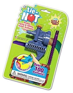 Tie - Not Water Balloon Filling Set (Tie-Knots Color May Very)