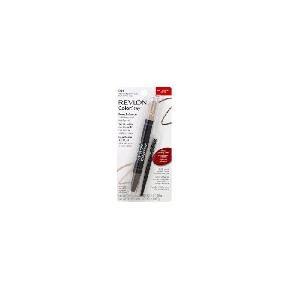 Revlon Colorstay Brow Enhancer, Blackened Brown/taupe