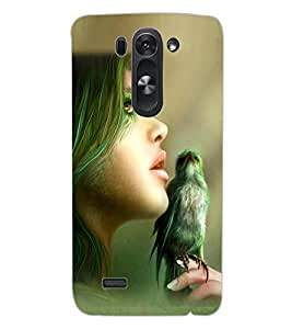 ColourCraft Printed Design Back Case Cover for LG G3 S